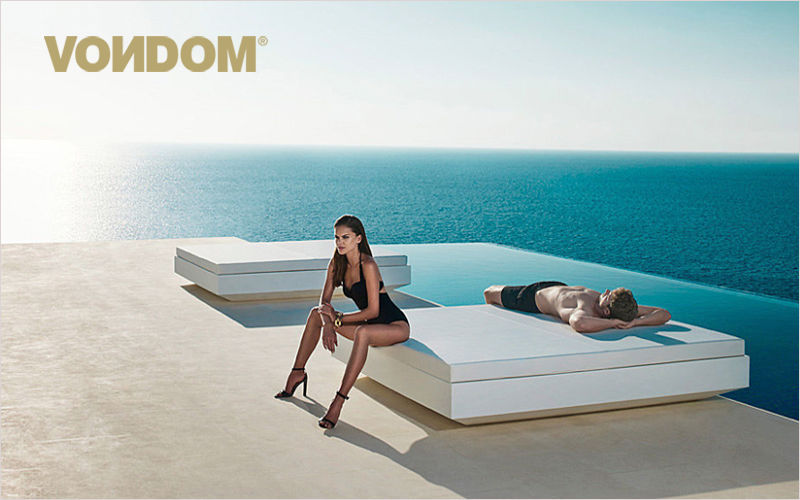 VONDOM Double Sun lounger Garden chaises longues Garden Furniture  |