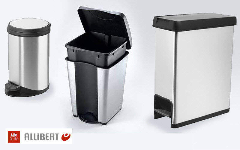 Allibert Bathroom dustbin Bathroom accessories Bathroom Accessories and Fixtures  |
