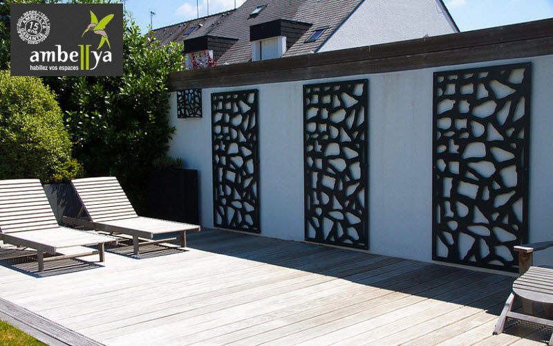 AMBELLYA Trellis Enclosures and trellis-work Garden Gazebos Gates...  |