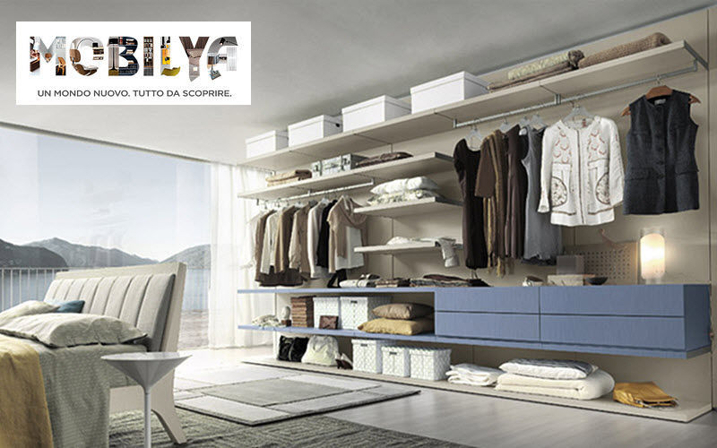 MOBILYA Straight Walk-in Closet Dressing rooms Wardrobe and Accessories  |