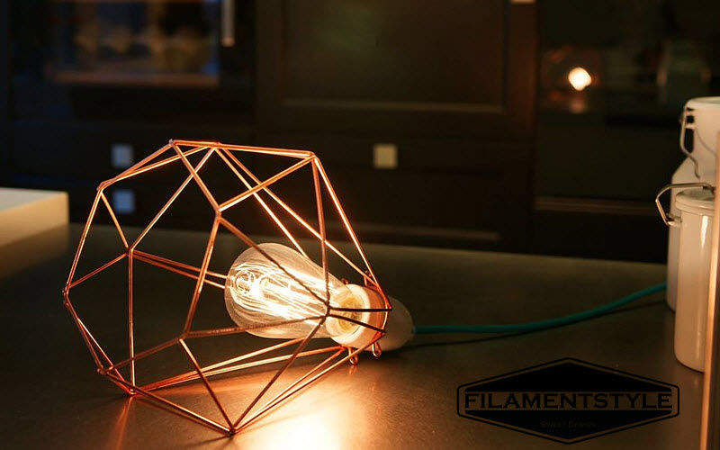 Filament Style Portable lamp Lamps Lighting : Indoor  |