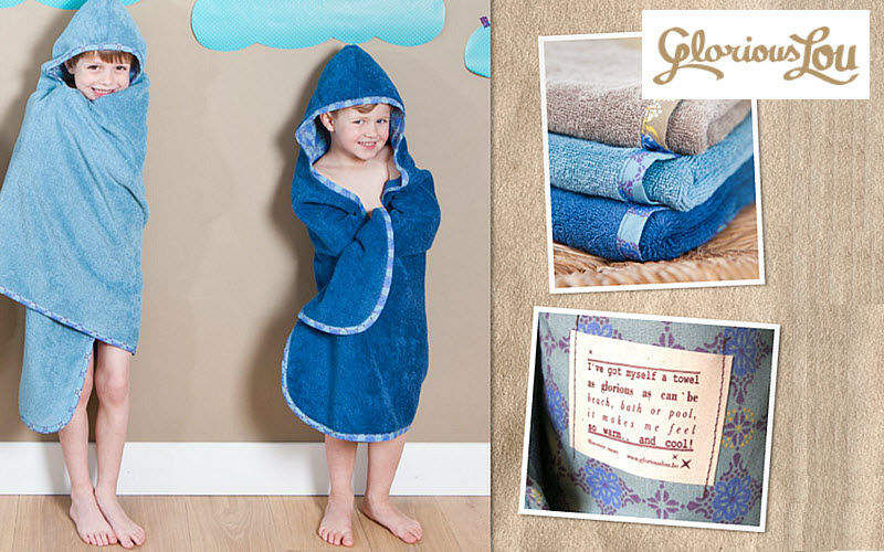 GLORIOUS LOU Hooded towel Children's bath and washing Children's corner  |