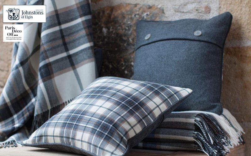 Johnstons of Elgin Square Cushion Pillows & pillow-cases Household Linen  |