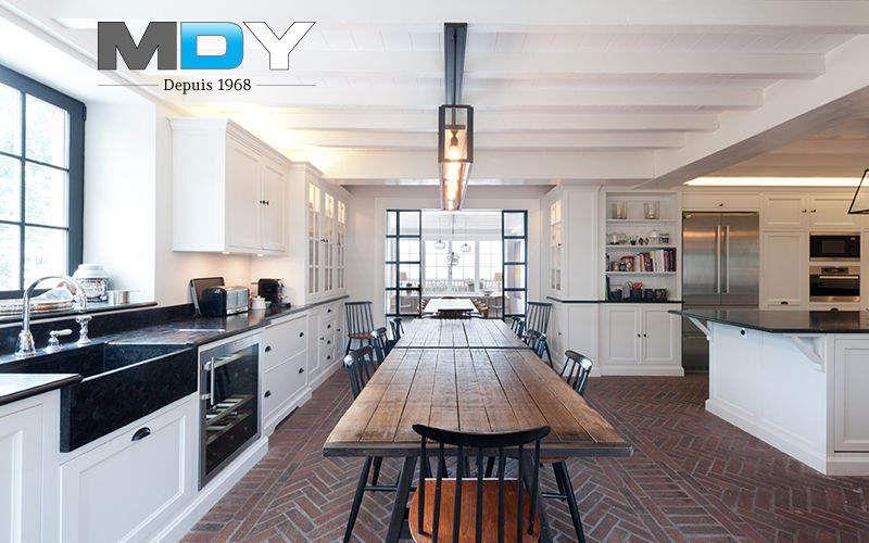 Marbrerie Des Yvelines Built in kitchen Fitted kitchens Kitchen Equipment   