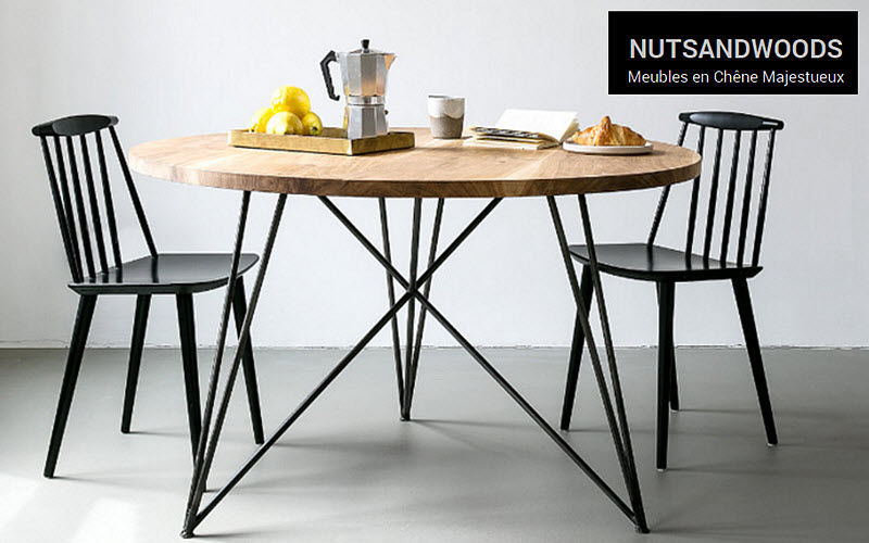 NUTSANDWOODS Round diner table Dining tables Tables and Misc.  |