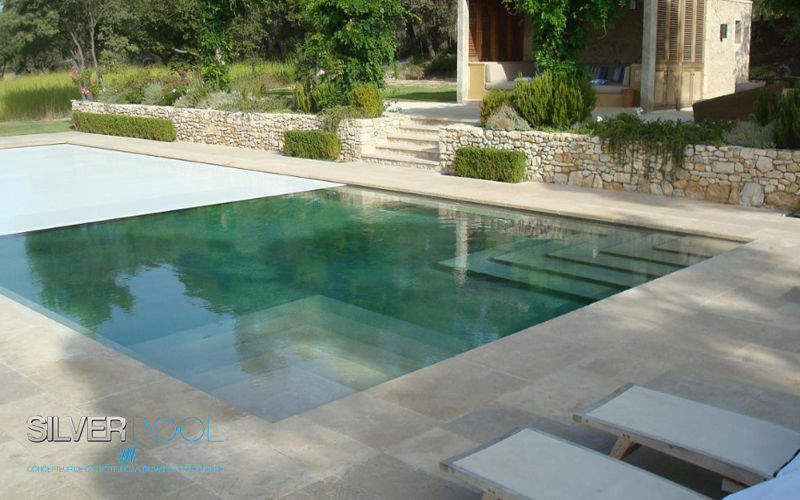 Silver Pool Automatic pool cover Covers and tarpaulins Swimming pools and Spa  |