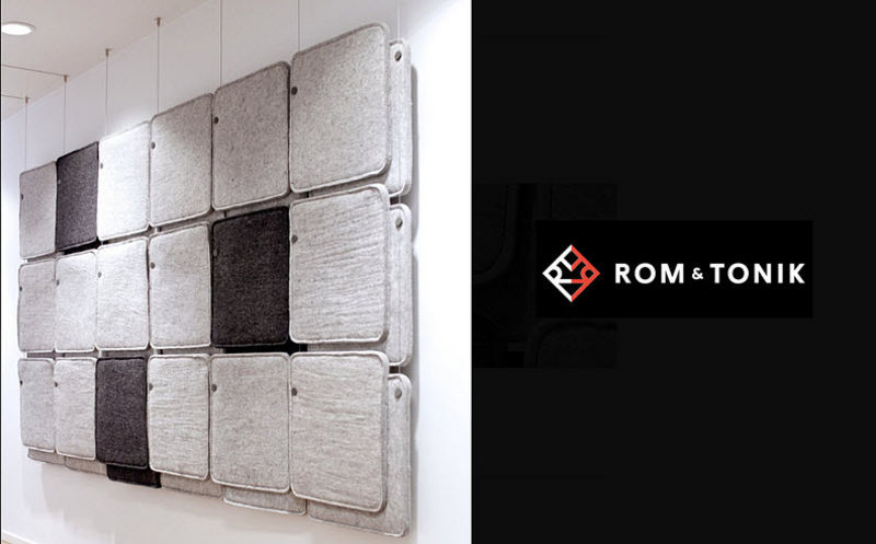 ROM & TONIK Acoustic panel Partitions Walls & Ceilings  |