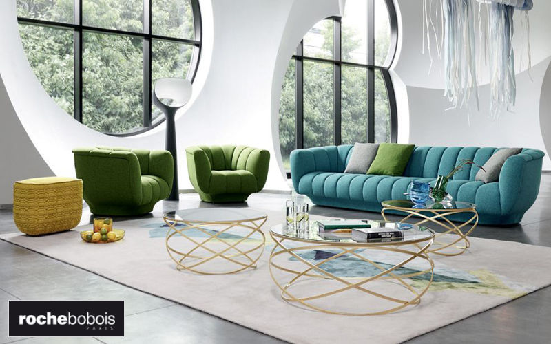 ROCHE BOBOIS 4-seater Sofa Sofas Seats & Sofas Living room-Bar |