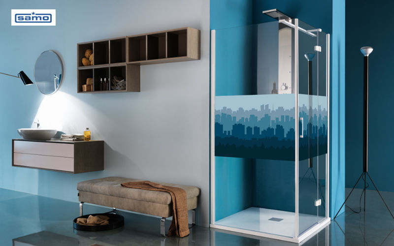 Samo Shower screen panel Showers & Accessoires Bathroom Accessories and Fixtures  |