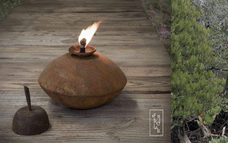 FERROLAB Outdoor torch Bollard lights Lighting : Outdoor  |