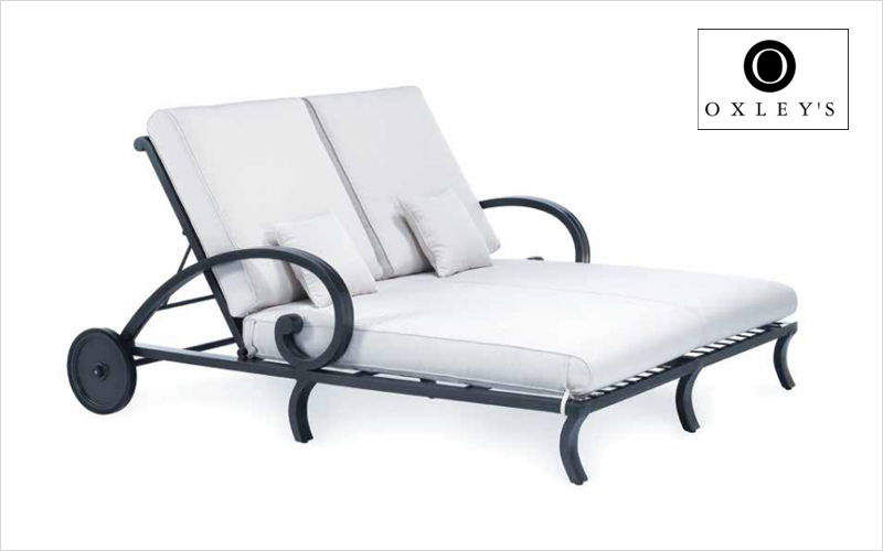 Oxley's Double Sun lounger Garden chaises longues Garden Furniture  |