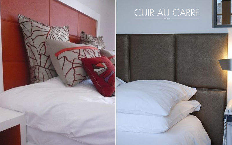 CUIR AU CARRE Headboard Bedheads Furniture Beds  |