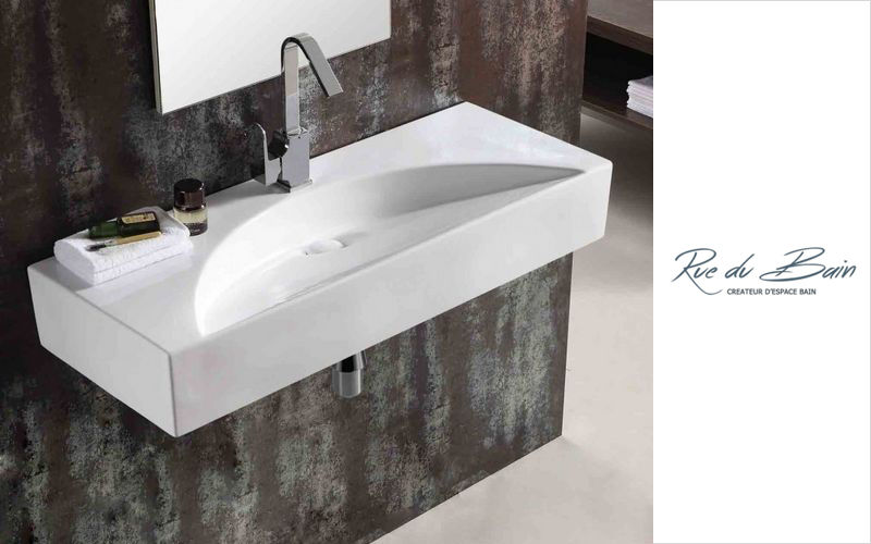 Rue du Bain Wall mounted washbasin Sinks and handbasins Bathroom Accessories and Fixtures  |