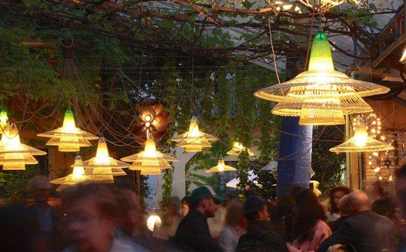 ACDO / ALVARO CATALAN DE OCON Outdoor hanging lamp Outdoor Lanterns Lighting : Outdoor   