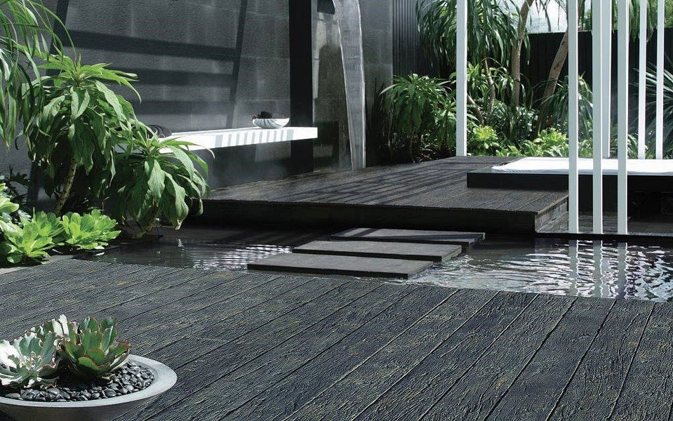 ANSYEARS Terrace lamella Outside floors Flooring  |