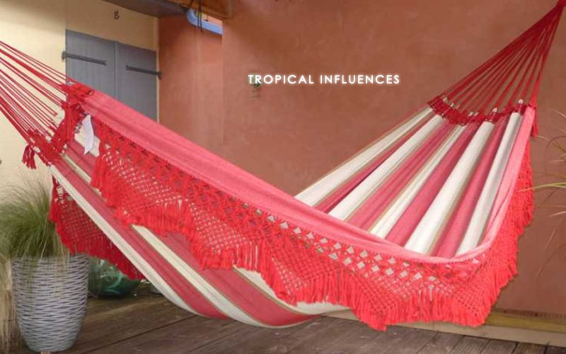 Hamac Tropical Influences Hammock Hammocks Garden Furniture  |