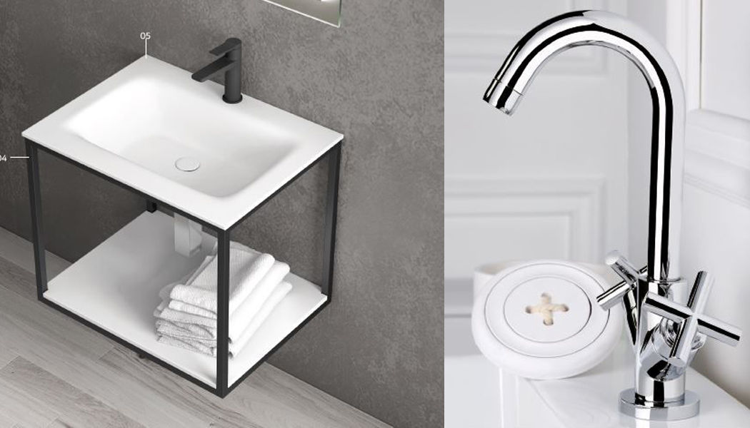 ITAL BAINS DESIGN One-hole basin mixer Taps Bathroom Accessories and Fixtures Bathroom | Design Contemporary