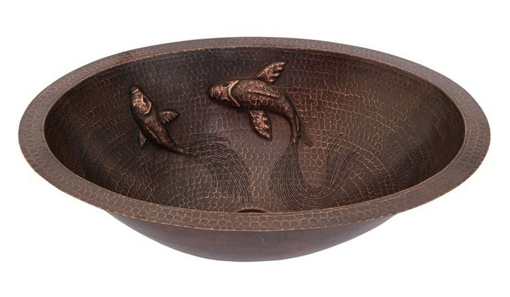 PREMIER COPPER PRODUCTS Countertop basin Sinks and handbasins Bathroom Accessories and Fixtures  |