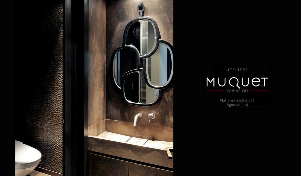 ATELIERs MUQUET Interior decoration plan - Bathrooms Bathroom plans Bathroom Accessories and Fixtures  |