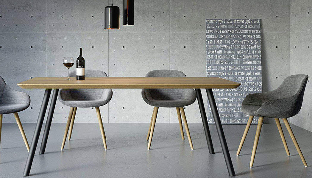 TAKE ME HOME Rectangular dining table Dining tables Tables and Misc. Dining room | Design Contemporary
