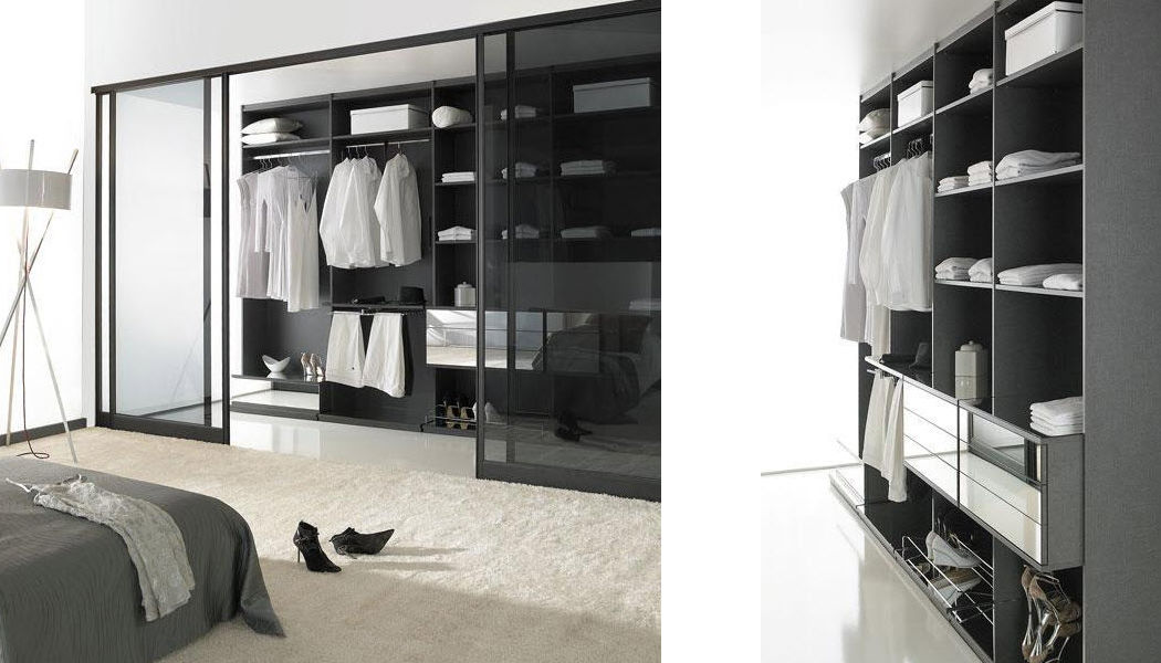 Coulidoor Dressing room Dressing rooms Wardrobe and Accessories Bedroom | Design Contemporary