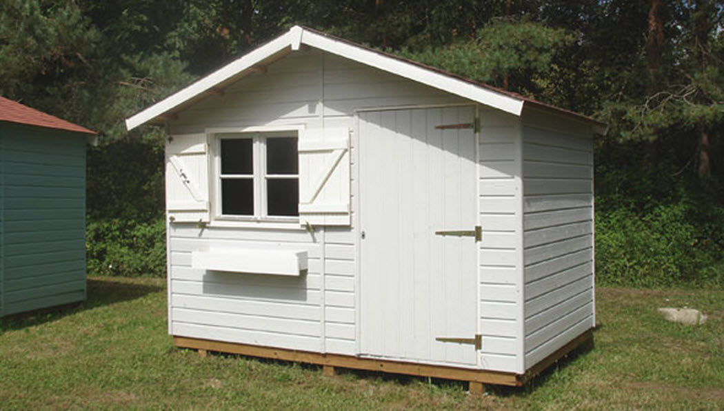 Cihb Wood garden shed Shelters and summer houses Garden Gazebos Gates...  |