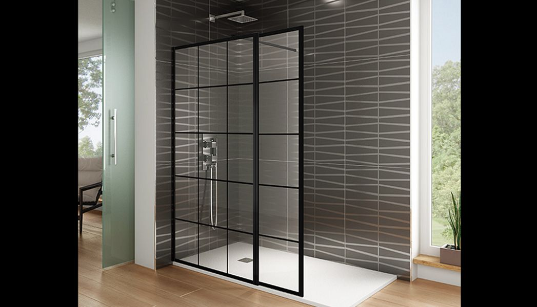 GME DIVISION BANOS Shower screen panel Showers & Accessoires Bathroom Accessories and Fixtures   