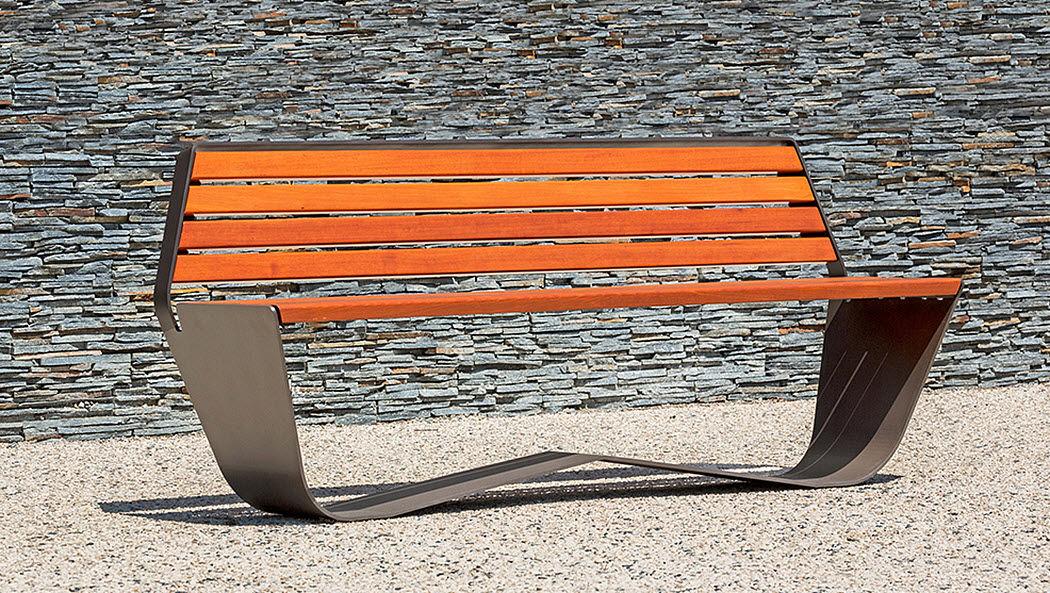 Concept Urbain Town bench Garden seats Garden Furniture  |