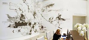 POETIC WALL - art mural - Fresco