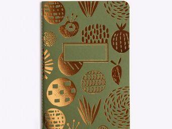 LES EDITIONS DU PAON - garden party vert kaki - Diary