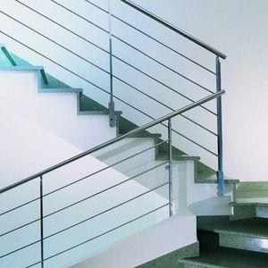 L'ECHELLE EUROPEENNE - inox verre gaudi - Stair Railing