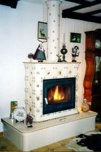 Ceramique Regnier -  - Closed Fireplace