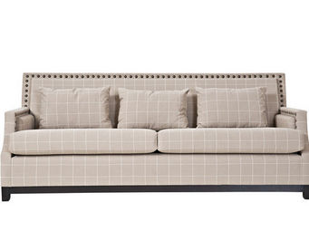 KA INTERNATIONAL - sofa salem + cavan piedra - 3 Seater Sofa