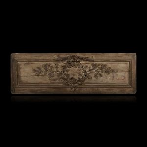 Expertissim - elément de boiserie en chêne - Decorative Panel