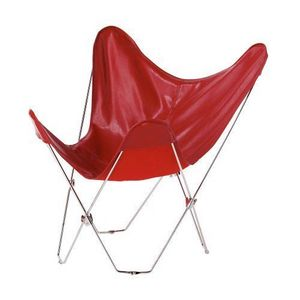 Maisons du monde - fauteuil rouge easy - Armchair