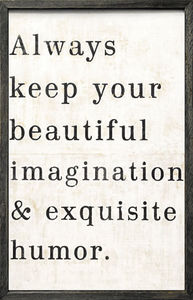 Sugarboo Designs - art print - always keep your - Decorative Painting