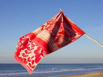 Jean Vier - madrague corail - Beach Towel