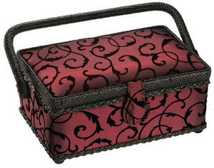 Rascol - royal burgundy - Sewing Box