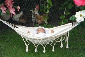 Maranon - baby forro natural - Baby Hammock