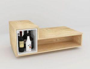 MALHERBE EDITION - table basse bar lb2 - Bar Coffee Table