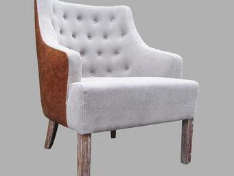 BLANC D'IVOIRE - philip - Armchair