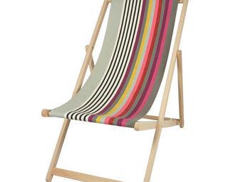 Artiga - chilienne artiga larrau en hêtre massif et coton 5 - Deck Chair