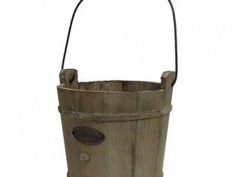 L'HERITIER DU TEMPS - seau de puits en bois - 19,5 cm - Bucket