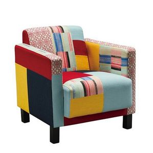 Mathi Design - fauteuil patchwork cubik - Armchair
