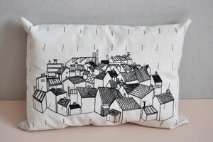 ANNE FONTAIMPE -  - Rectangular Cushion