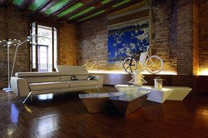 ROCHE BOBOIS -  cirrus - 3 Seater Sofa