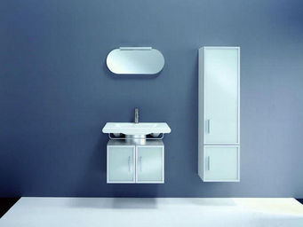 UsiRama.com - meuble salle de bain design moon-light 60cm - Bathroom Furniture