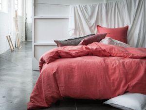 BLANC CERISE - reves de lin - Duvet Cover