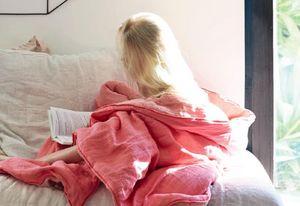 Maison De Vacances - lavé froissé - Bedspread