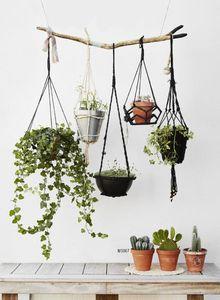 MADAM STOLTZ -  - Hanging Basket